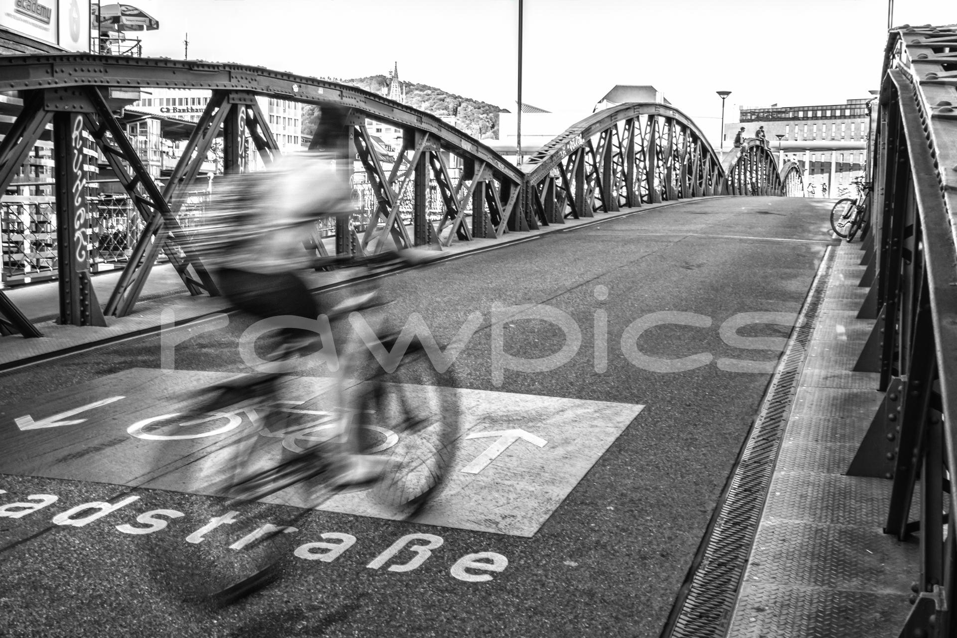Freiburg Radfahrer